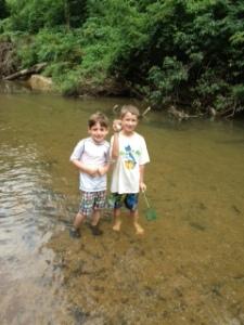 Elias & Bryce creek